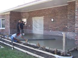 exterior design awesome pour concrete slab for your outdoor