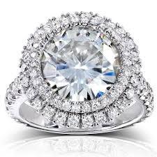 overstock engagement rings annello by kobelli 14k white gold 5 7 8ct tgw large moissanite hi