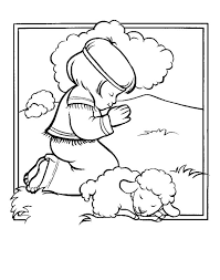religious coloring pages kids sheep free christian coloring