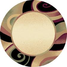 Brown Round Rugs by Really Decorative Contemporary Round Rugs Design Ideas U0026 Decor