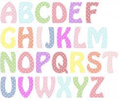 alphabet letters pastel colors free stock photo public domain