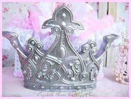 Vintage Look Pewter Bed Crown Wall Decor Paint Color and