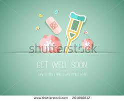 get well soon for children get well soon children card vectors free vector