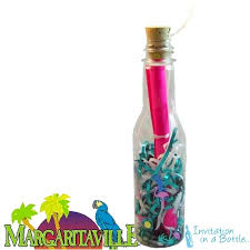wedding invitations in a bottle theme bottle invitations for and events