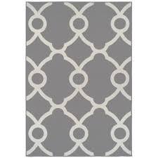 White Modern Rug Gray Silver Outdoor Rugs You Ll Wayfair