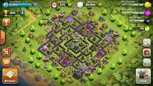 big clash of clans base base max big trees for my base clashofclans