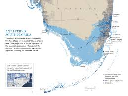 Map Florida Keys by Treading Water Map Florida In 2100 National Geographic Magazine