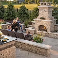 Unilock Fireplace Kits Price Outdoor Fireplace Massachusetts Ma Landscape Depot