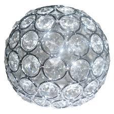 shop portfolio ladura 4 75 in crystal vanity light shade at lowe u0027s