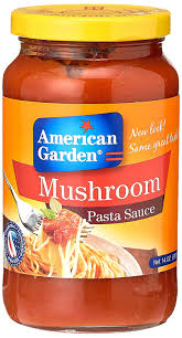 american garden mushroom pasta sauce 397g amazon in grocery