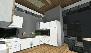Minecraft Kitchen Furniture Minecraft Modern Kitchen Designs Cozy Design Modern Kitchen