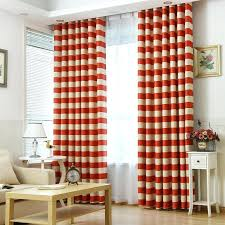 Patterned Window Curtains Orange Patterned Curtains Teawing Co