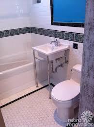 Bathtub Boogie 1920 Bathroom Tile Surrounding Mirror Idea And Tile Wainscot