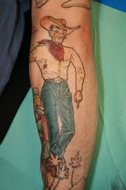 awesome tattoo pics cowboy tattoo quotes