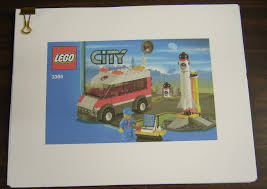 lego city 3366 satellite launch pad printed instruction manual