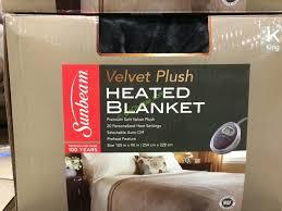Life Comfort Blanket Costco Sunbeam Heated Blanket Queen Or King U2013 Costcochaser