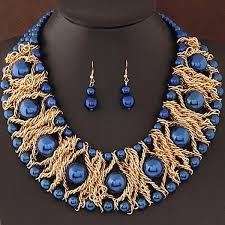 african beads necklace sets images Boutique jewelry sets for women gold plated african beads jewelry jpg