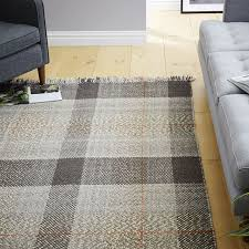 Plaid Area Rug Plaid Area Rug Chene Interiors