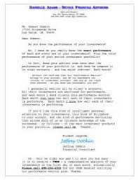 17 financial advisor cover letter financial advisor cover