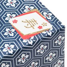 Japanese Gift by Navy Flower Japanese Gift Wrap