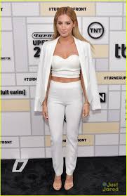 Ashley White by Ashley Tisdale Wows In White At Turner Upfronts In Nyc Photo
