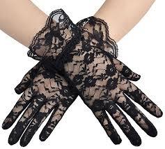 lace accessories wigs fan purse gloves accessories