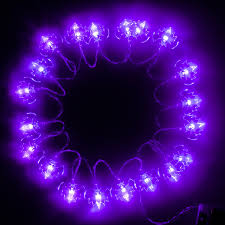 battery operated halloween string lights amazon com halloween string lights purple ki store bat led light