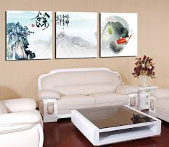 Livingroom Paintings by Online Get Cheap Painted Fish Art Aliexpress Com Alibaba Group