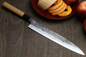Japanese Folded Steel Kitchen Knives Yoshihiro Cutlery Premium Japanese Chef Knives