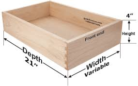 How To Measure Cabinets Kraftmaid Cabinets Replacement Drawer Boxes 3 4 Thick