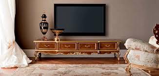 Furniture For Tv Classic Tv Cabinet Wooden Casanova Modenese Gastone Luxury
