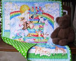 Noah S Ark Crib Bedding Noah S Ark Quilt Etsy