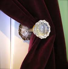 glass antique door knobs i u0027m projecting again u2014 glass doorknob curtain tie backs and how