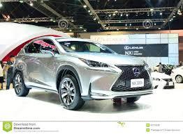 lexus crossover hibrido bangkok march 26 lexus nx 300h hybrid suv vehicle on displ