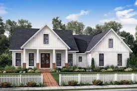 plan 51772hz exclusive farmhouse with bonus room and side load