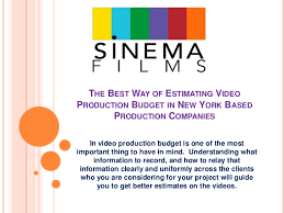 production companies nyc the best way of estimating production budget in new york based