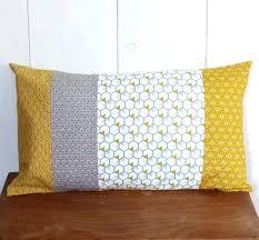 refaire coussin canapé refaire coussin canape housse de patchwork 30 x 50 cm tissus