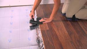 Installing Laminate Flooring Underlayment Bluehawk Features And Benefits Youtube