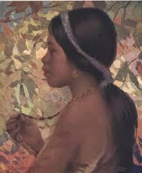 ifugao oil by fernando amorsolo the ifugaos live chiefly