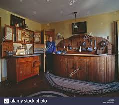 Kitchen Hoosier Cabinet House Owner In The Kitchen Castle Tucker Wiscasset Maine
