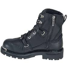womens boots harley davidson harley davidson boots womens black zip motorcycle boots 84499