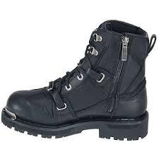 womens boots harley davidson harley davidson boots womens black zip motorcycle boots 84499