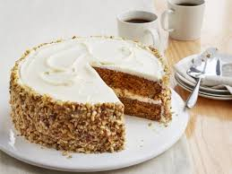 carrot cake with ginger cream cheese frosting recipe food