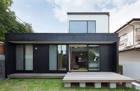 compact house design compact wooden home with japanese details for young couples