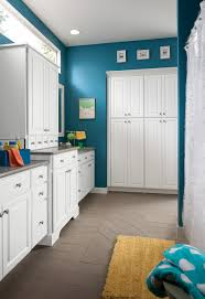 shenandoah bathroom cabinetry white thermo foil grove door style