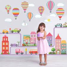 100 balloon wall stickers www maciedotdoodles com girl s balloon wall stickers nursery decals tagged
