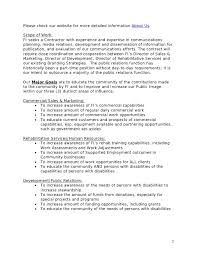scope of work template scope of work template scope of work