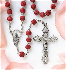 rosary from the vatican blessed by pope benedict xvi scented carved petal rosary