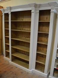 Break Front Bookcase Painted Breakfront Bookcase Thesecretconsul Com