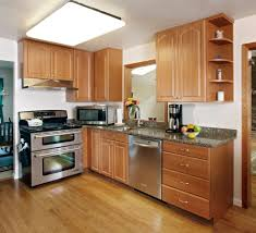 Color Schemes For Kitchens With Oak Cabinets Oak Cabinets Ideas To Update Oak Kitchen Cabinets With Open Or
